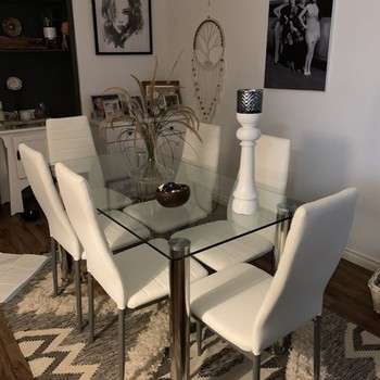 Zoe 6 Seater Dining Table Fantastic Furniture