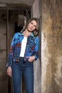 Product image for Simply Art Dolcezza: Distilling Colors Of Beauty Abstract Art Jacket (Few Left!)