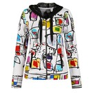 Product image for Simply Art Dolcezza: Etagere & Miss Eze Printed Hoodie Jacket