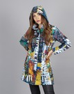 Product image for Simply Art Dolcezza: Colors Of Flight Aviary Abstract Art Soft Shell Coat