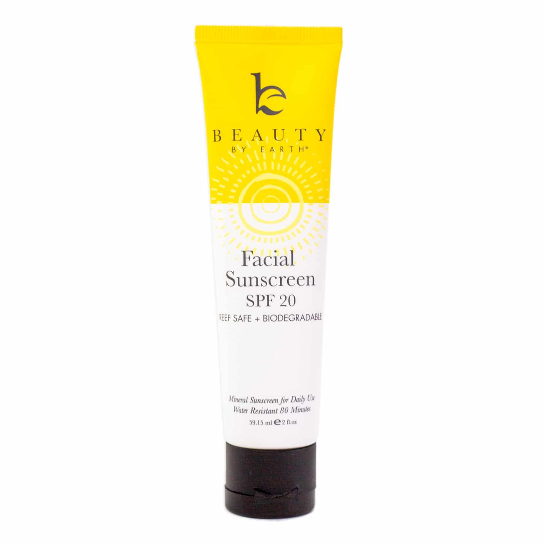 Facial Sunscreen - SPF 20