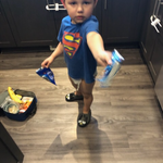 My grandson loves his new
