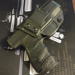 Walther PPS M2 9mm/ 40 IWB/AIWB Kydex Holster - Profile Holster - Right Hand