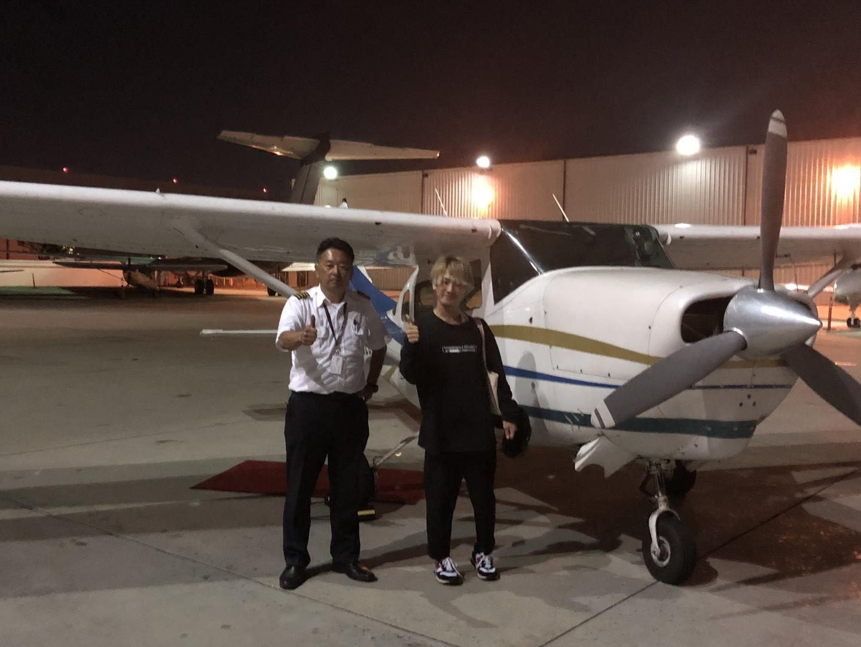 ガイドの山口さんは、ガイドとしても、パイロットとしても、お父さんとしても、大変素晴らしい方でした。セスナは家族で感動しました。このツアーは、間違いありません。是非お勧めします。