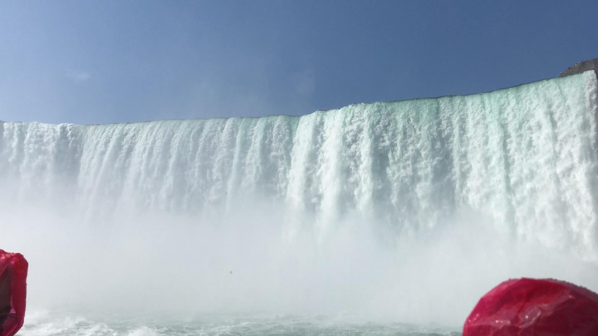 ガイドさんも移動中ずっとトロントの町の話やカナダについて様々な事を紹介してくださいました。 おすすめスポットなど知りたいこと全て教えてくださいましたし、ナイアガラの滝の迫力は絶対行かないと分からないし体験してみないと伝わらない迫力がありました