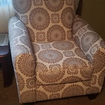 Swell Charisma Cream Geometric Accent Chair Creativecarmelina Interior Chair Design Creativecarmelinacom