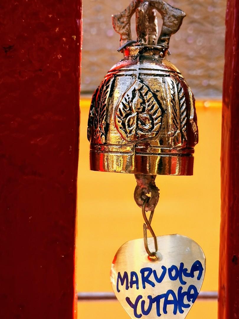 個人では体験出来ない お坊さんからの聖水掛け、鐘に名前を書いての祈願、仏舎利塔3回廻っての祈願等 体験出来て凄く良かった