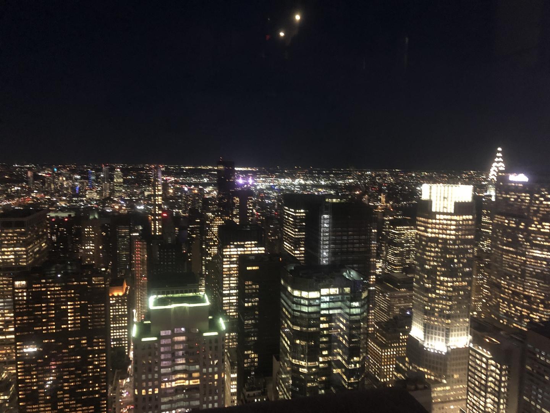 夜景が素晴らしいです。