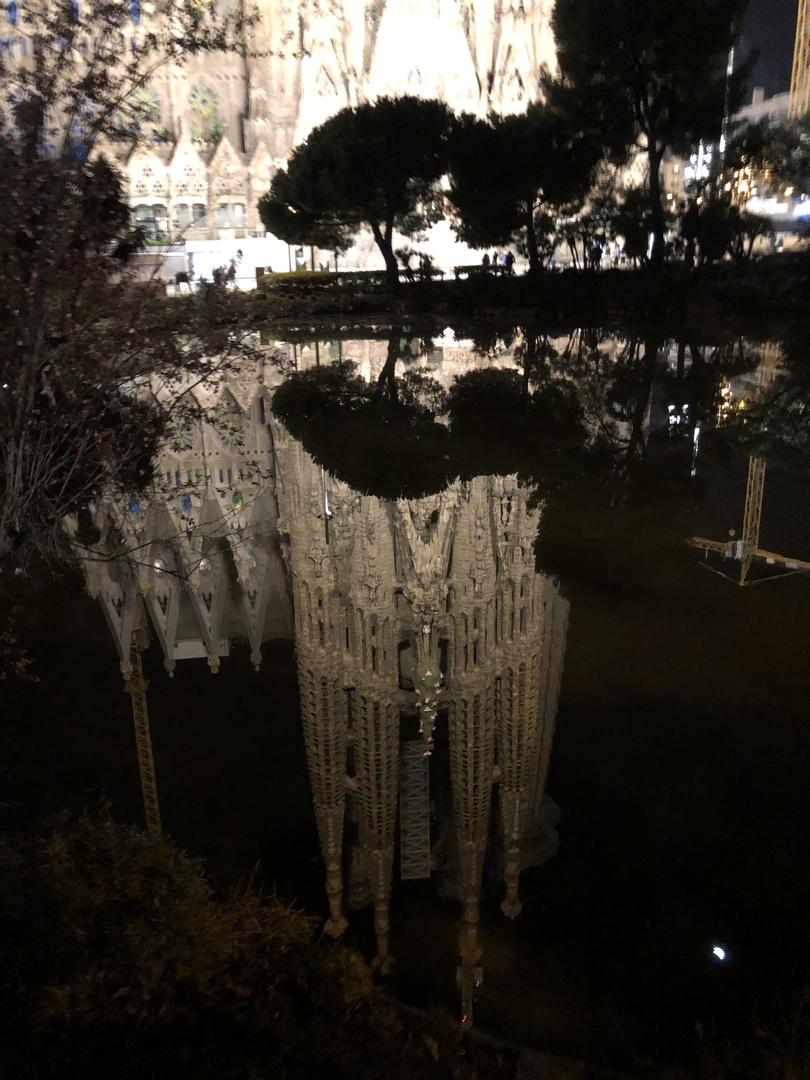 バルもガイドさんも最高でした💕 特に夜のサクラダファミリアはなんと言ってもライトアップが水辺に反射して最高の写真が撮れ綺麗でした💕 またガイドさんとのバルツアーも楽しくスペインならではのつまみも食べられて大満足のツアーでした💕