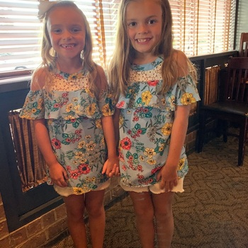 I buy my twin granddaughters
