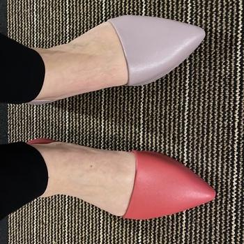 Chic but practical shoes. Surprisingly