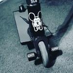 ADDICT Flint Peg Long Front Stunt Scooter schwarz NEU 98125