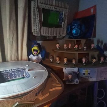 """Tottenham Hotspur Kid/'s Chirpy Mascot Toy 9/"""" Navy Blue//White"""