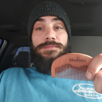Beard Comb - Natural Wood | Live Bearded