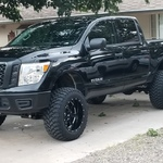 Lifted Nissan Titan >> 6in Nissan Suspension Lift Kit 17 19 Titan 4wd