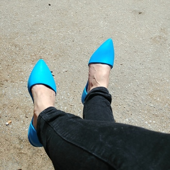 Cute flats, they fit well!