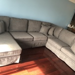 Katie Charcoal 4 Piece Right Arm Sectional