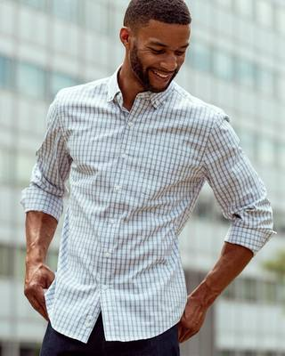 New & Improved: Aero Button-Down We're constantly iterating - even our favorite styles go back to the lab from time to time. We're excited to re-introduce Aero Button-Down, built with our classic easy stretch and wrinkle resistance, an upgraded soft cotton...