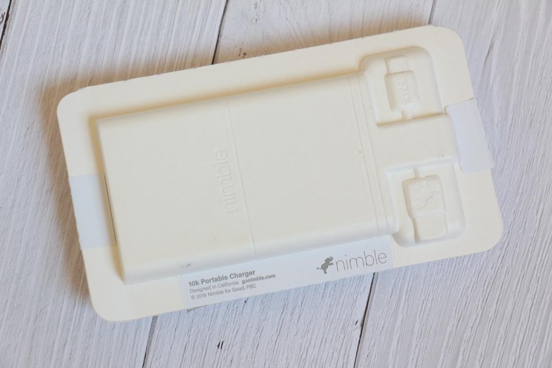 3-Day Fast Portable Charger (10,000 mAh)   Nimble