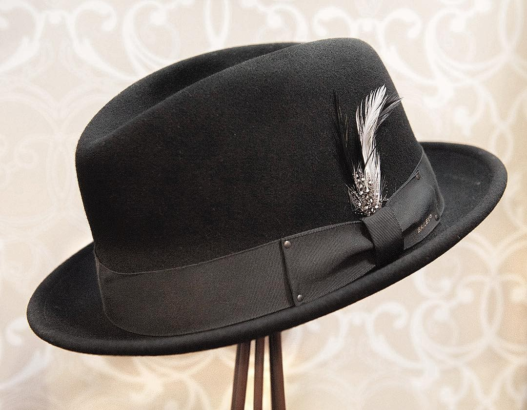 82c4b982d47d8d This snap brim fedora features our signature center dent crown and is  crafted out of our