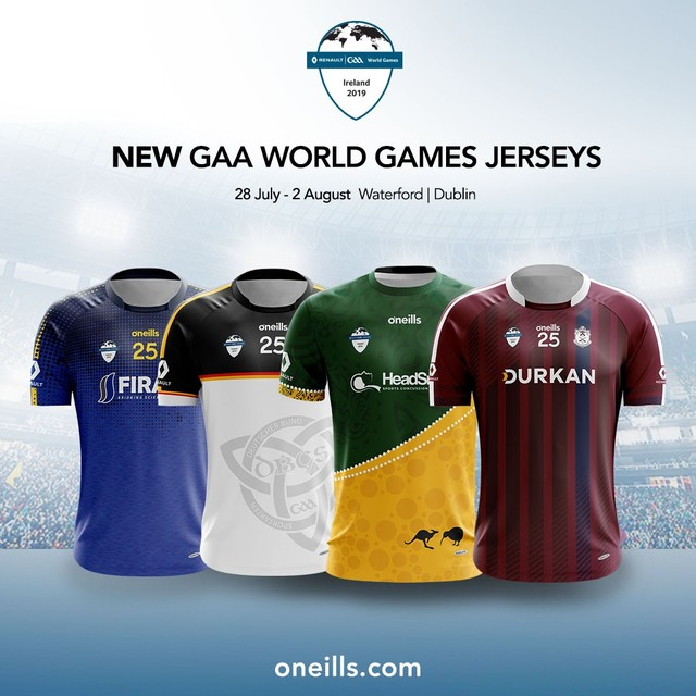 b3bdcb40 Introducing the 2019 Renault @gaaworldgames official online shop. Browse a  collection of team jerseys