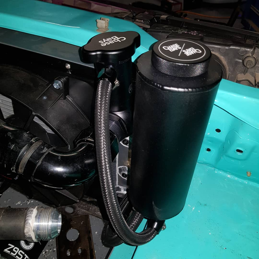 Chase Bays Coolant Overflow