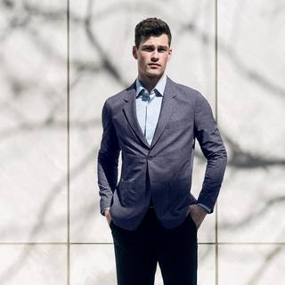 Did you know? Our Kinetic Dot Air Blazer employs micro-perforated fabric for increased breathability - if you need to dress up for a last minute meeting or socially distanced outdoor event, it'll look sharp and keep sweat stains away in the summer heat. . ...