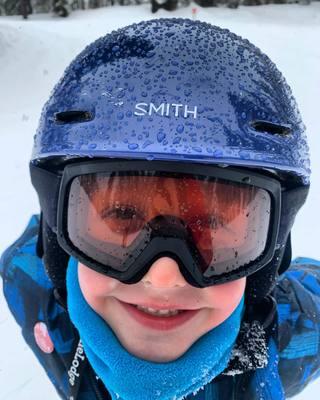 Many Colors! SNOW HELMET SMITH ZOOM RASCAL SKI YOUTH SMALL GOGGLE COMBO