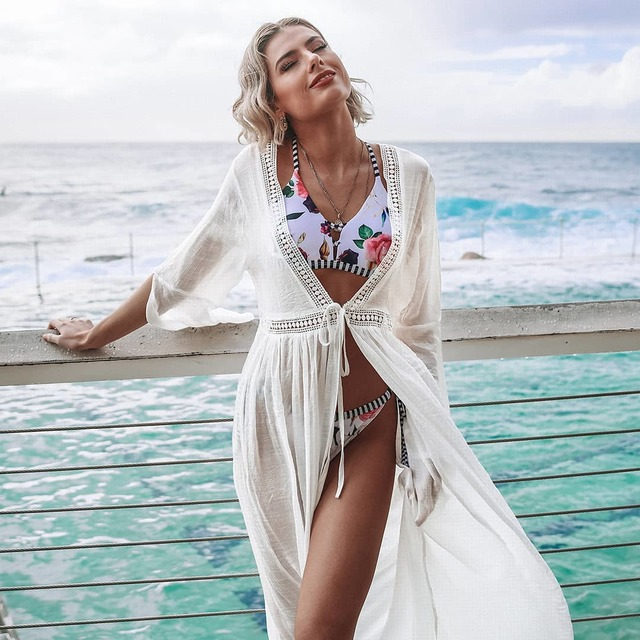 314cf43569 Level up your bikini style with our chic new coverup. 🌊 Buy or Bye?