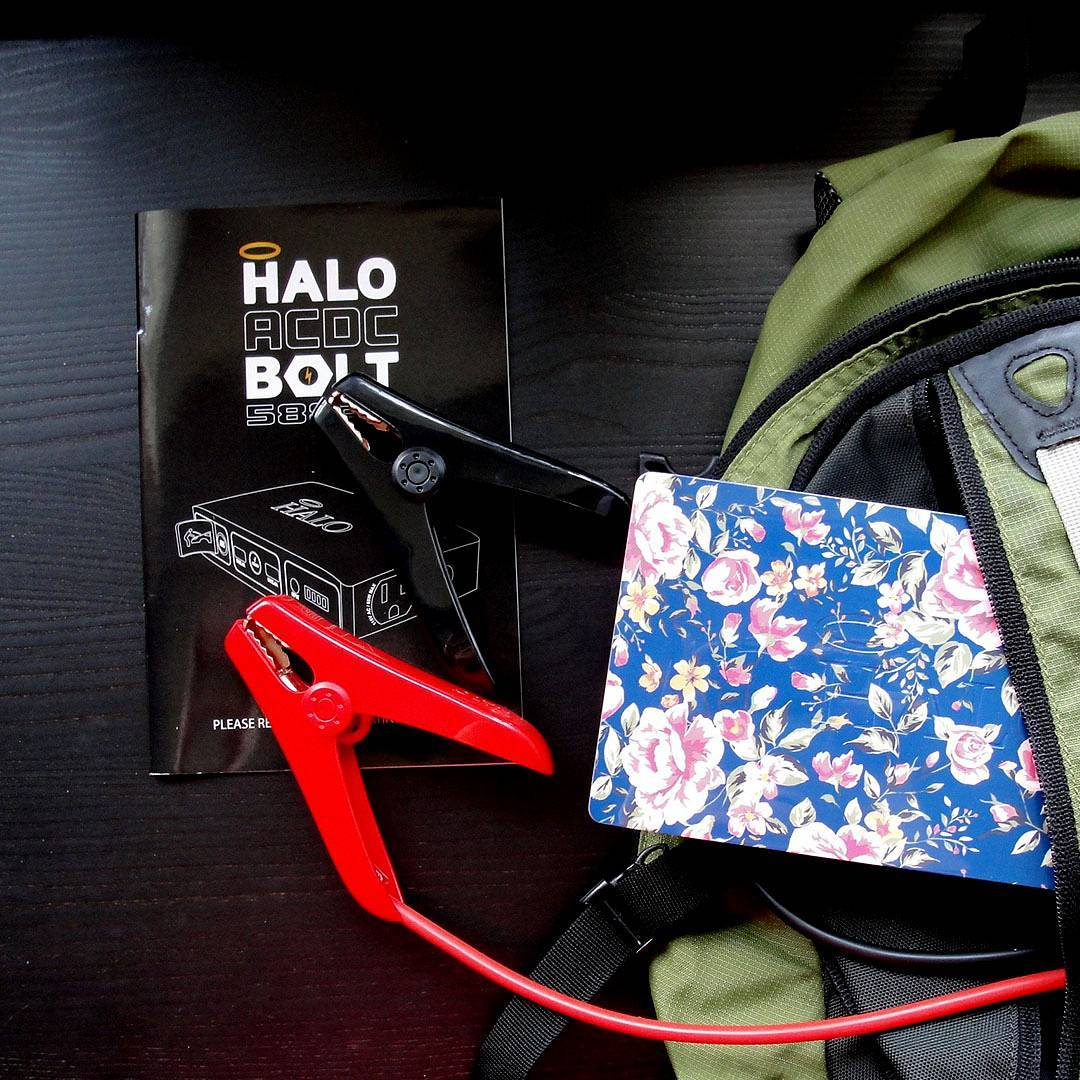 HALO Bolt 58830 mWh Portable Charger & Jump Starter