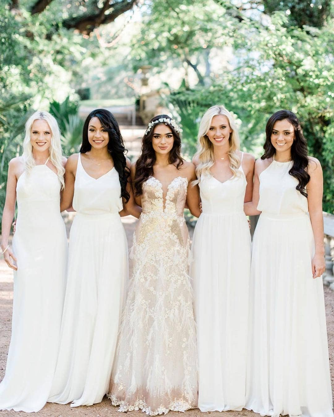 739ab13d0 Yesterday a bride in our DMs asked us what colour her bridesmaids should  wear since she