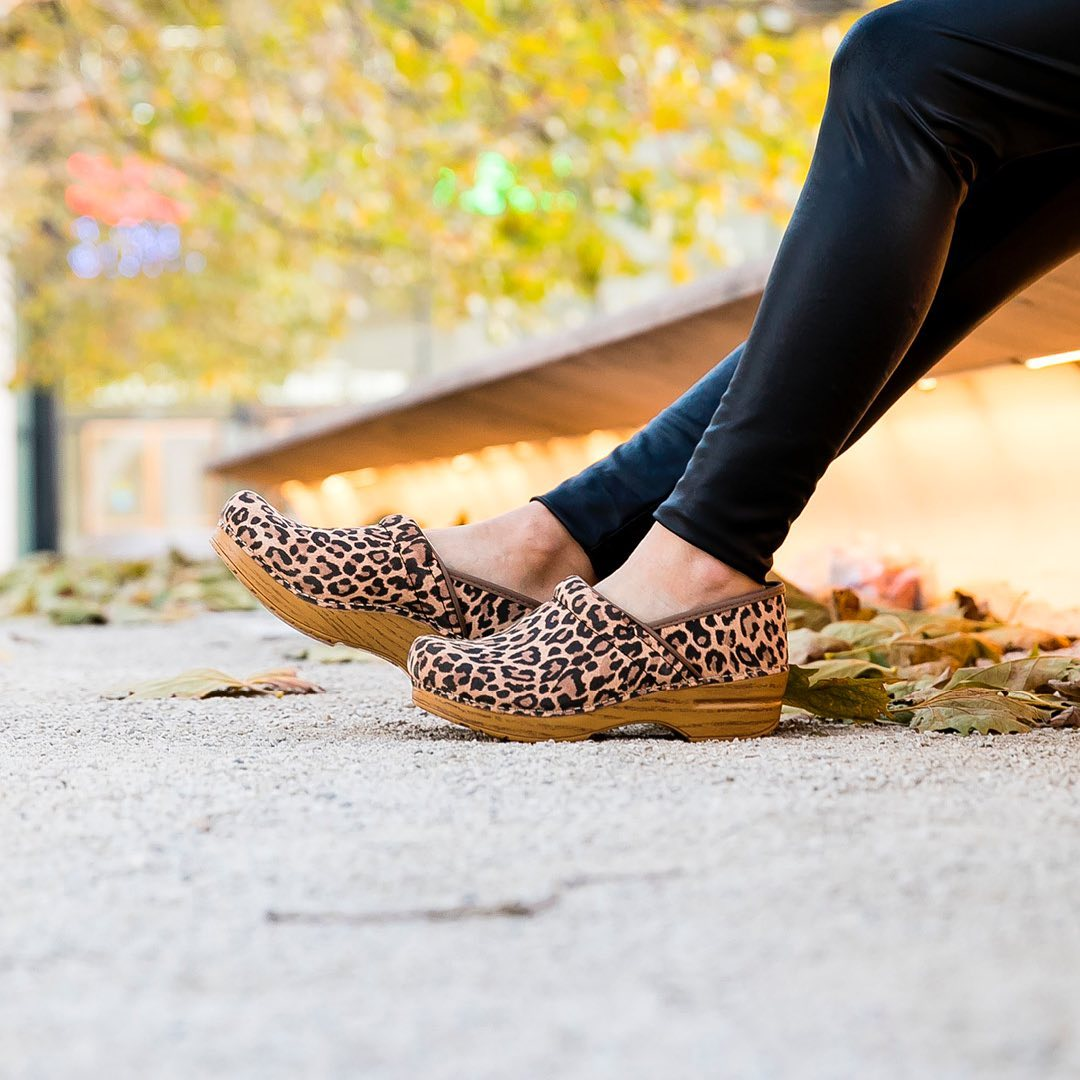 Image taken by tiptopshoesnyc of Professional Leopard Suede