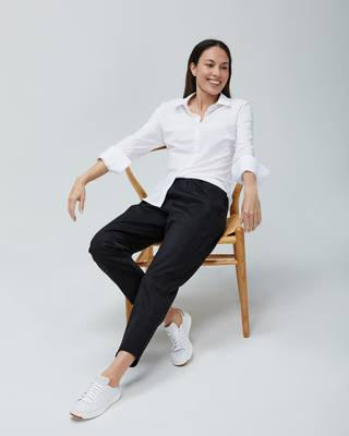 Just Launched: Fusion Pull-On Ankle Pant As easy as leggings - as comfortable as your favorite sweats. . . . . #fusion #pullonpants #anklepants #ascomfortableassweats #resilientstretch #fullhandpockets #gotopant #advancedmaterials #scientificallybetter #wo...