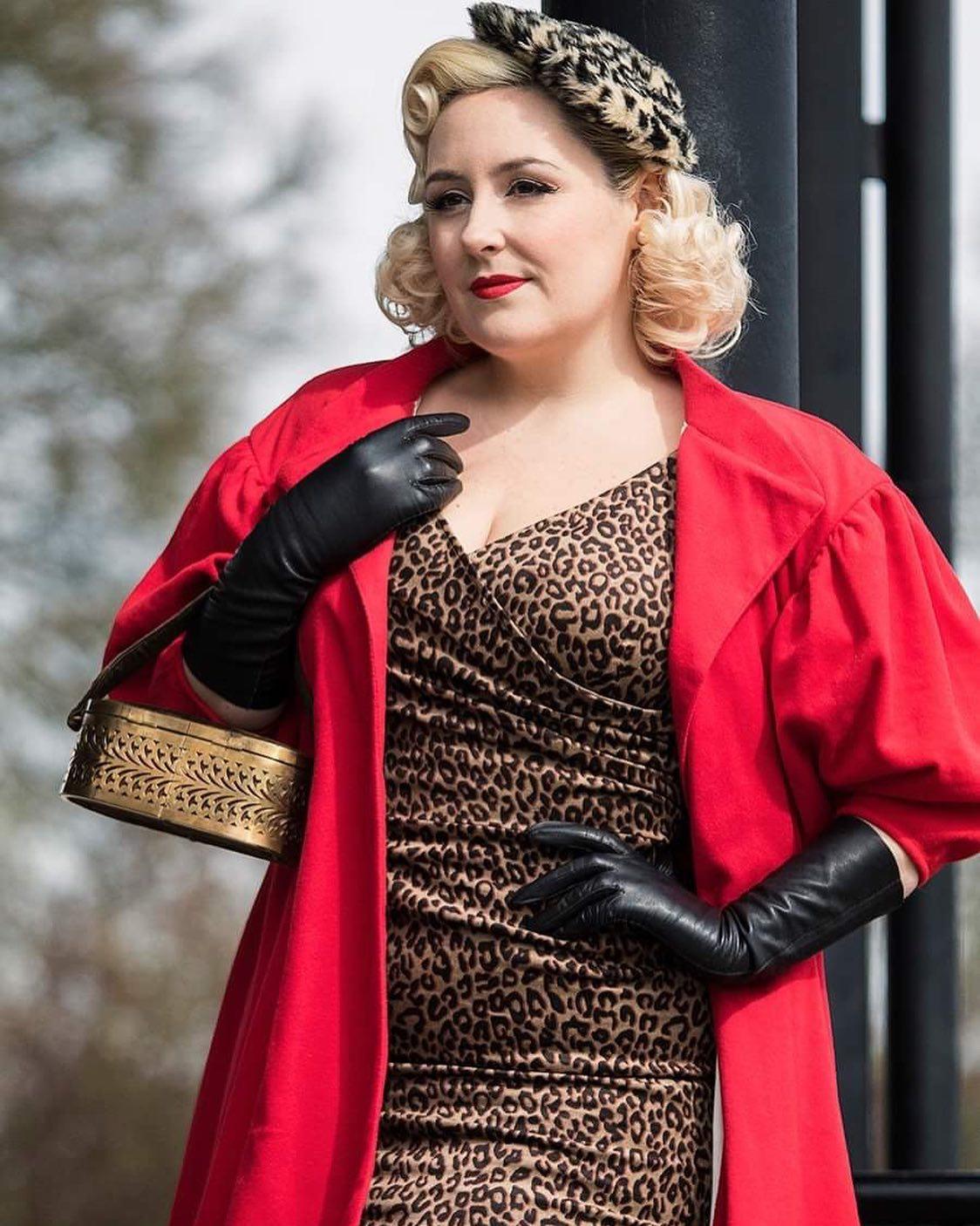 d01c226c823 Barbie x Unique Vintage 1960s Style Red Flare Swing Coat