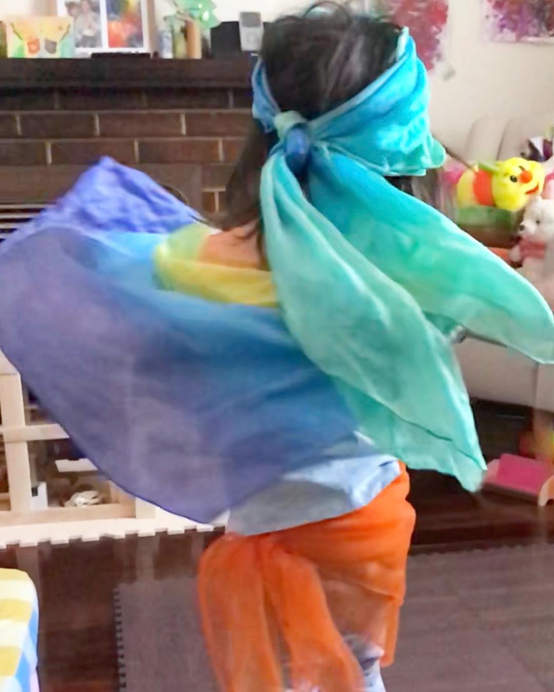 Rainbow Playsilks