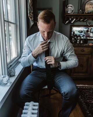 "Phase 3 of shelter-in-place proved itself to be a very interesting week. Had my first ""church gathering."" Black tie & a whole lot of mixed feelings. Anyone else ready for people to gather and not be scared?  #chicago #men #style #blog #thetiebar #ministryo..."