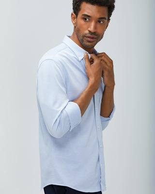 Hybrid Button-Down is an everyday staple enhanced with t-shirt soft fabric and comfortable stretch. Hybrid represents a modern take on the classic button-down. Where traditional shirts are often made of stiff, stuffy woven fabric, Hybrid is built with brea...